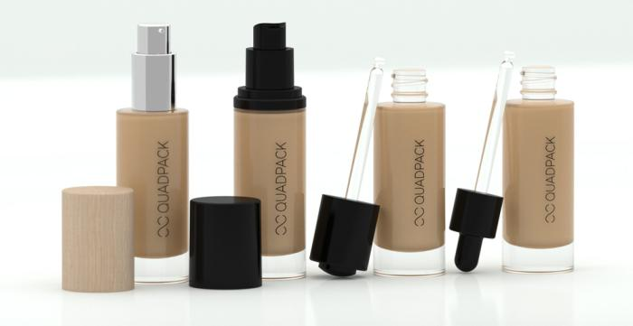 Quadpack's new line for liquid foundation can be tailored to suit