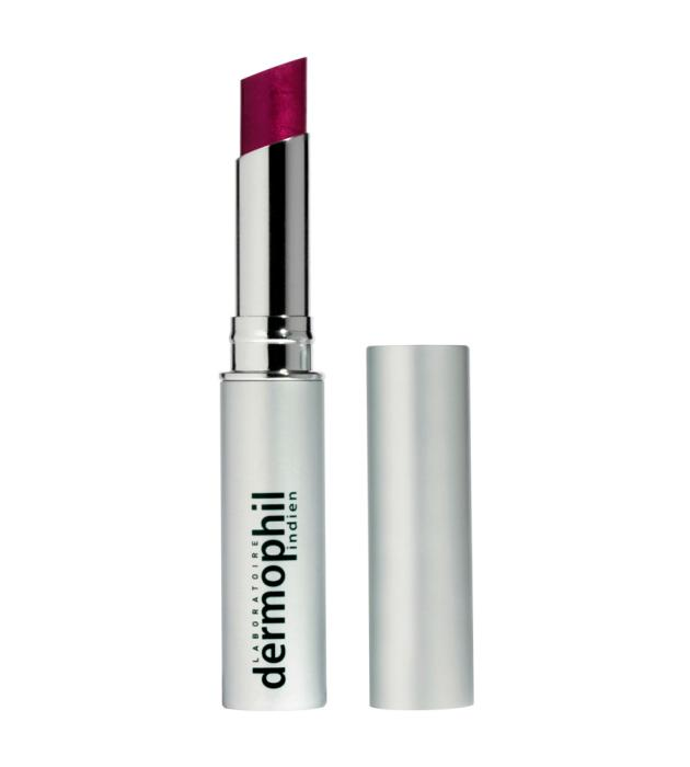 Quadpack packages Dermophil Indien's first colour lipstick