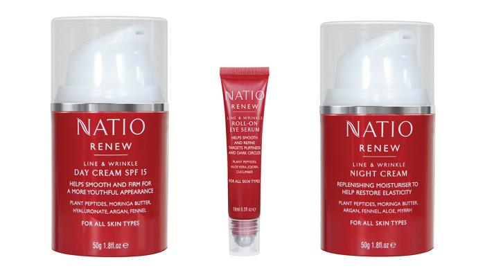 Quadpack gives a bold new look to Natio's anti-ageing line
