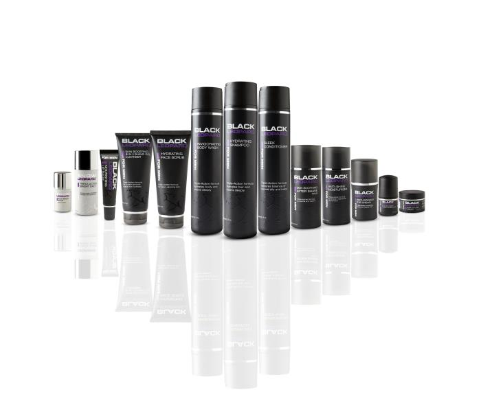 Black Leopard skincare: made for men, packaged by Quadpack
