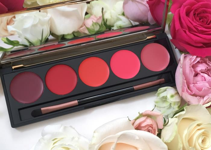Karen Murrell's Lip Palette offers a burst of colour