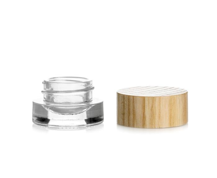 YouWood airtight pot blends glass and wood