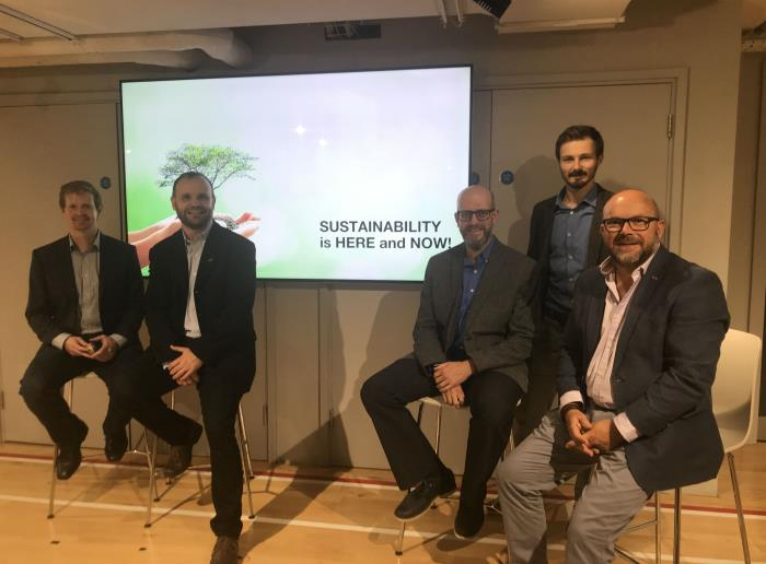 Driving the debate on sustainability